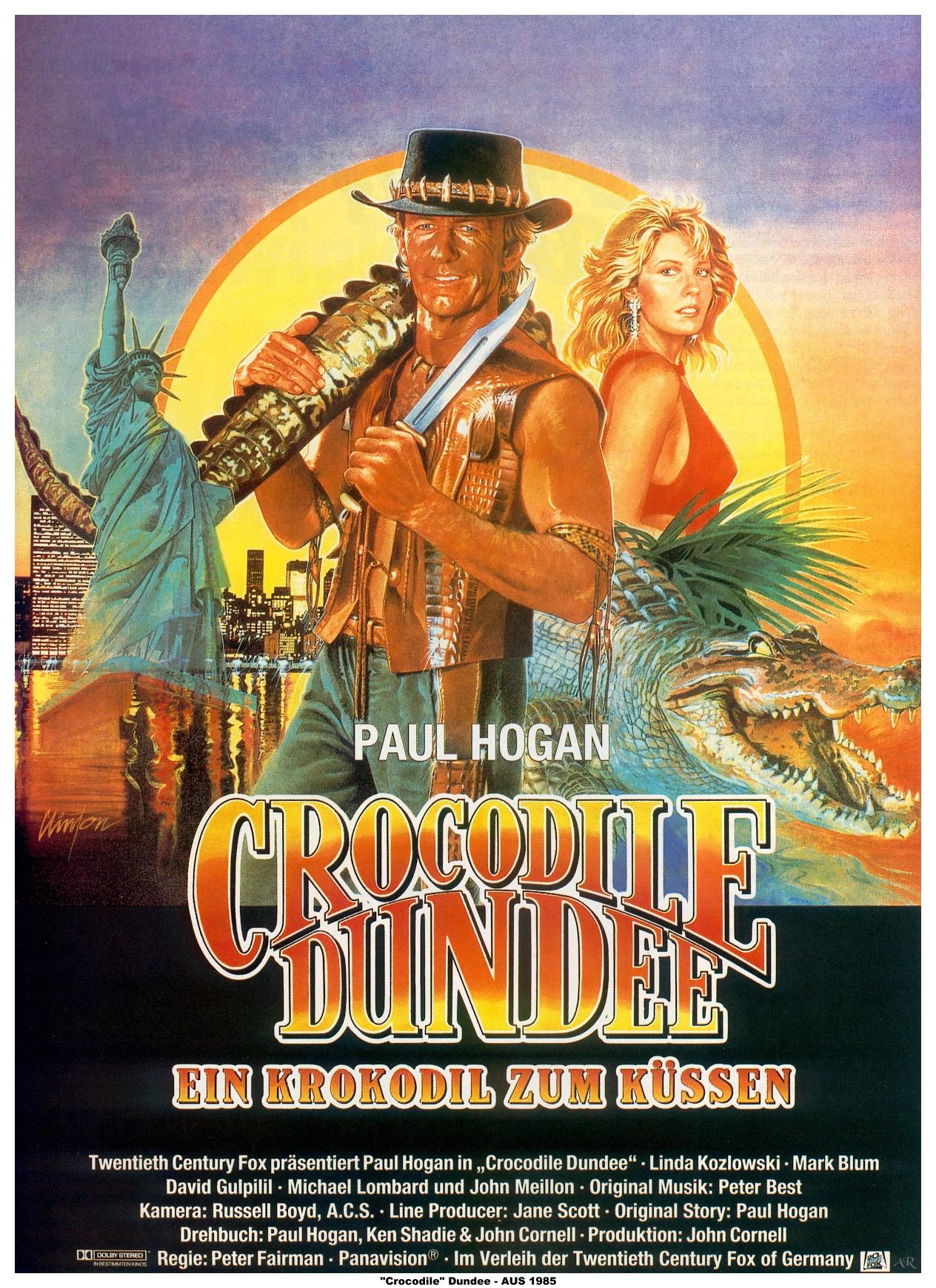 плакат фильма Данди по прозвищу «Крокодил»