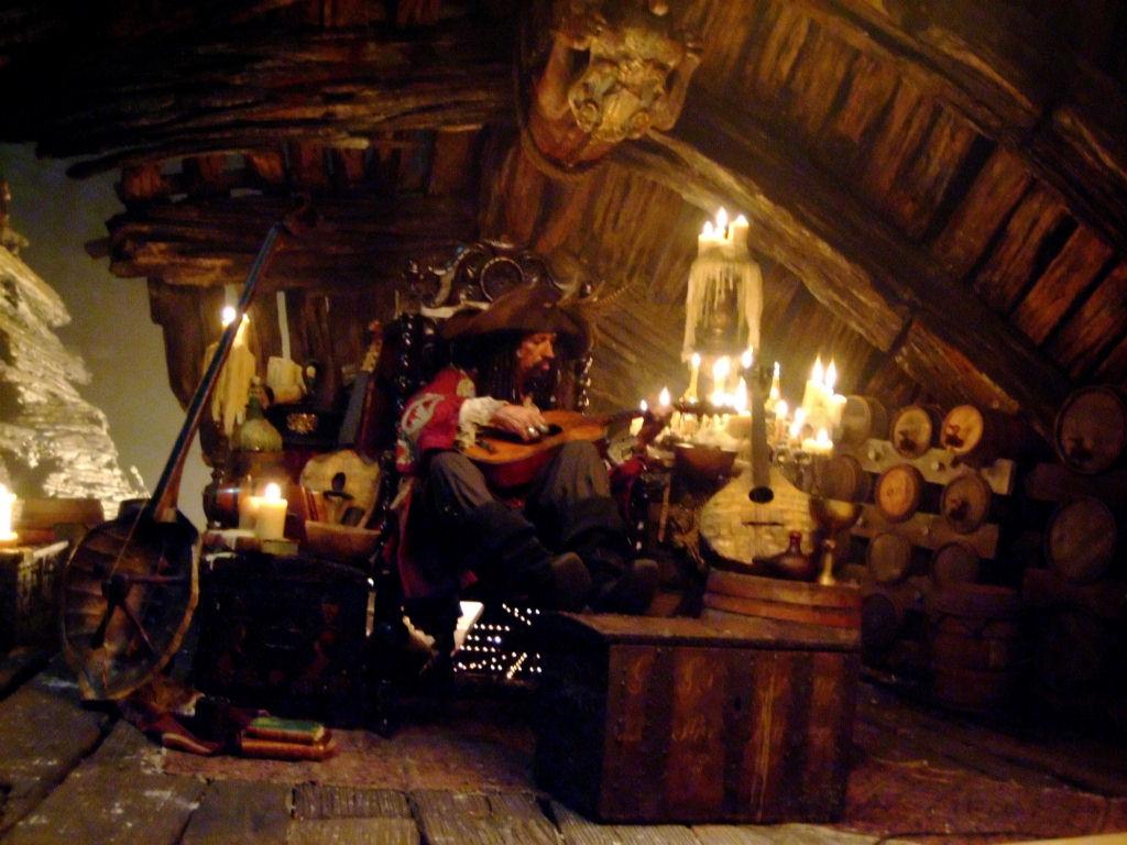 кадры из фильма Пираты Карибского моря: На краю света Кит Ричардс,