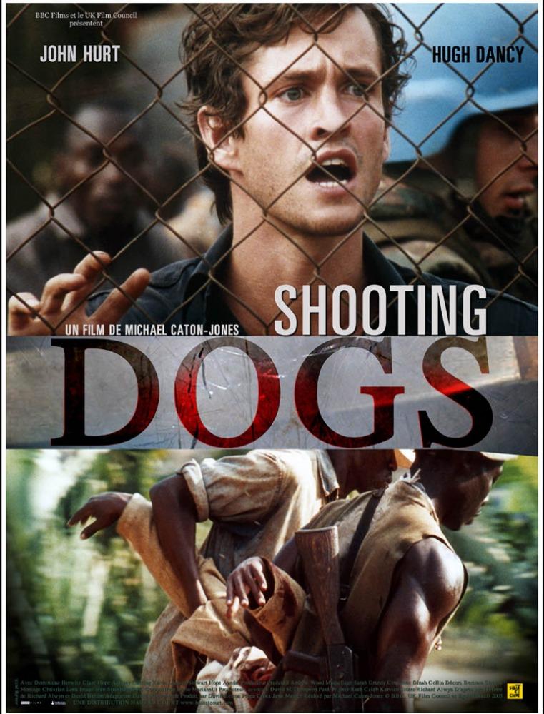 плакат фильма постер Отстреливая собак*