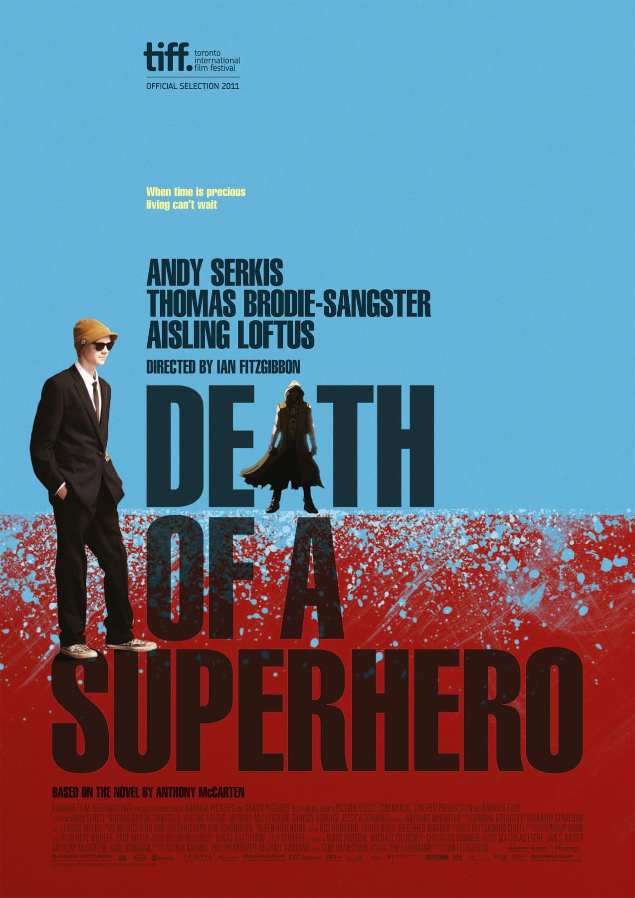 плакат фильма постер Смерть супергероя