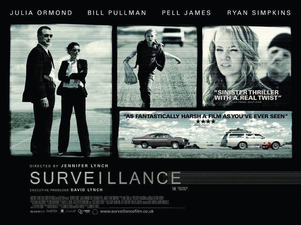 плакат фильма биллборды Наблюдение
