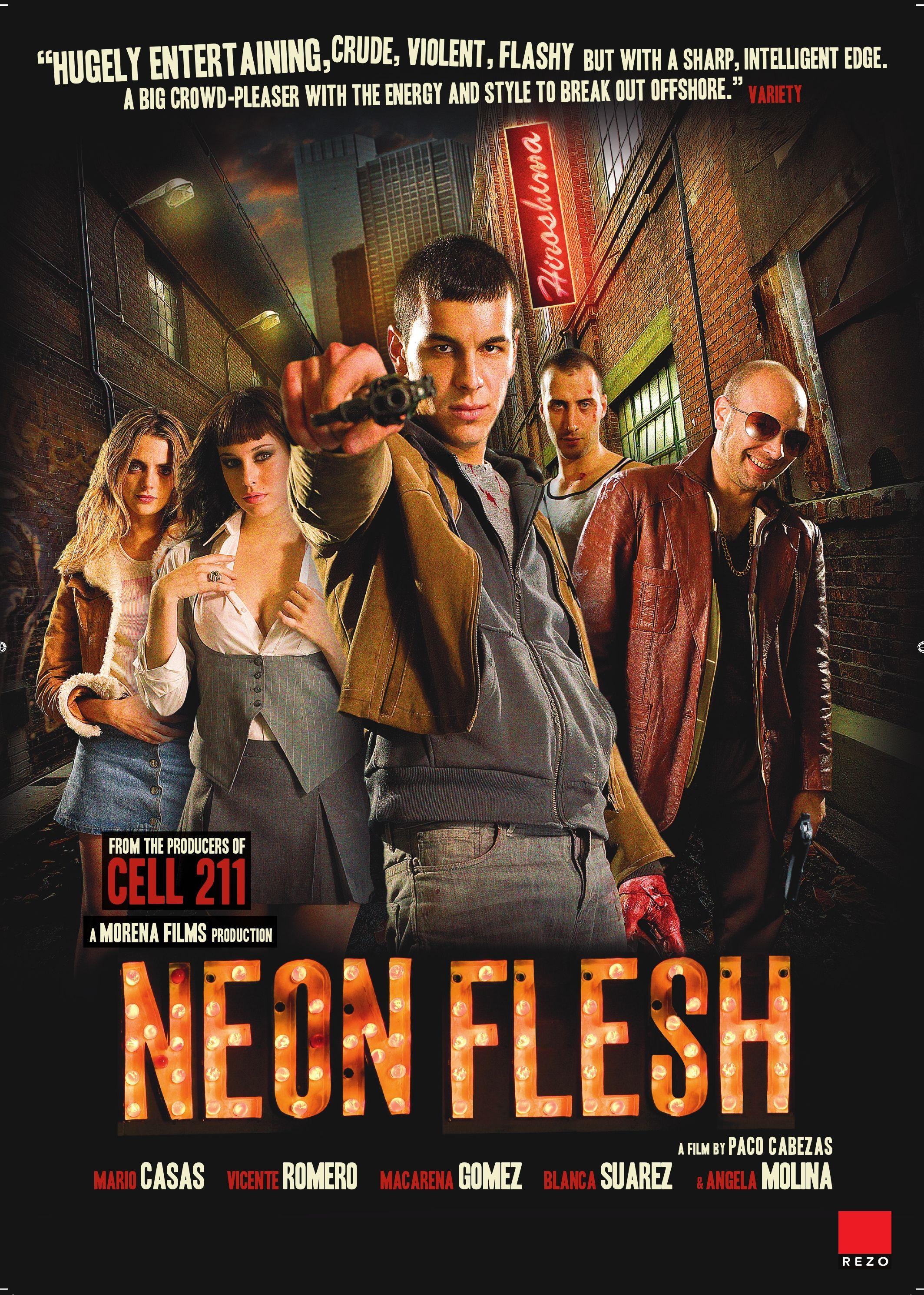 плакат фильма постер Неоновая плоть