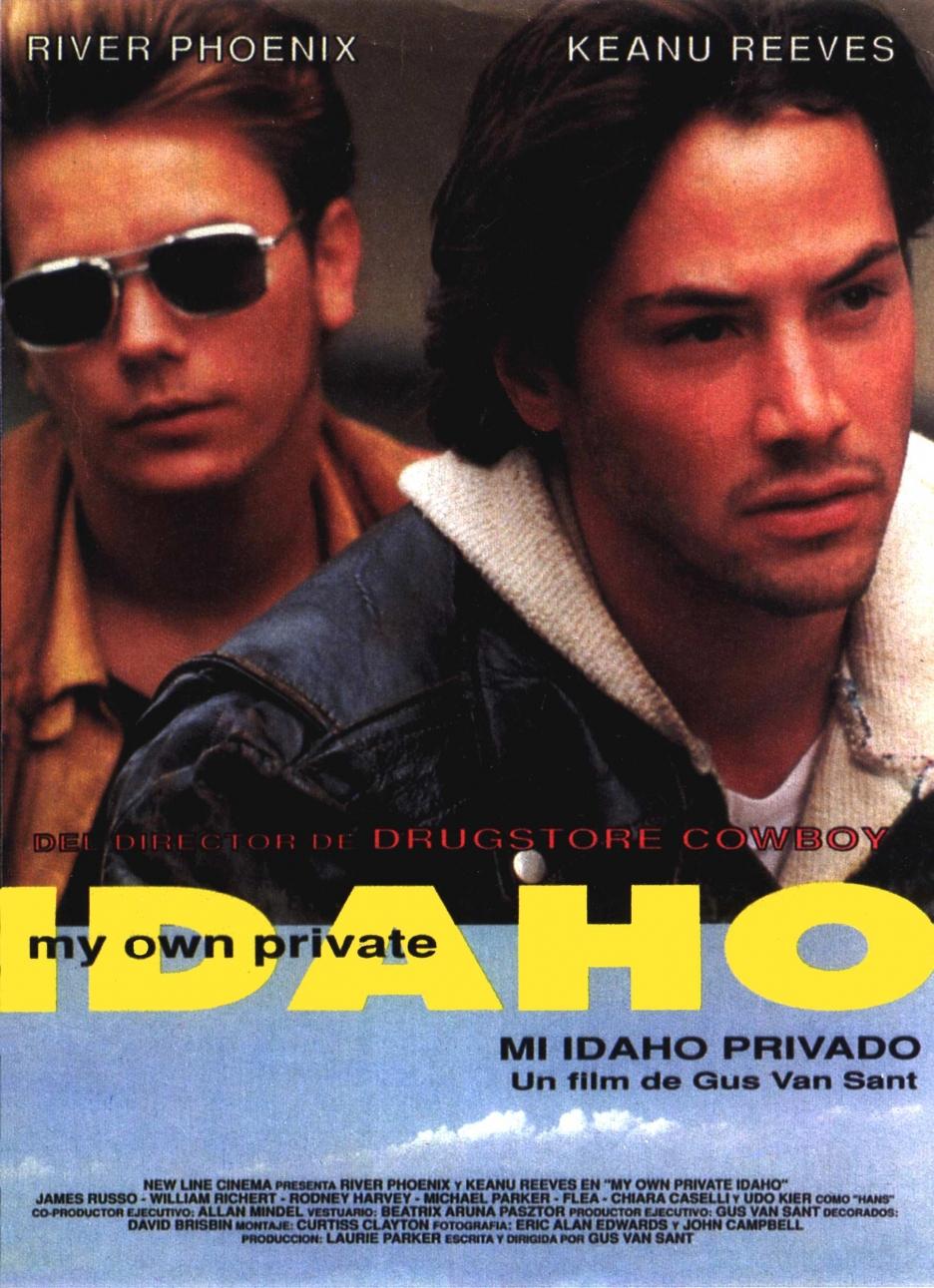 плакат фильма постер Мой личный штат Айдахо