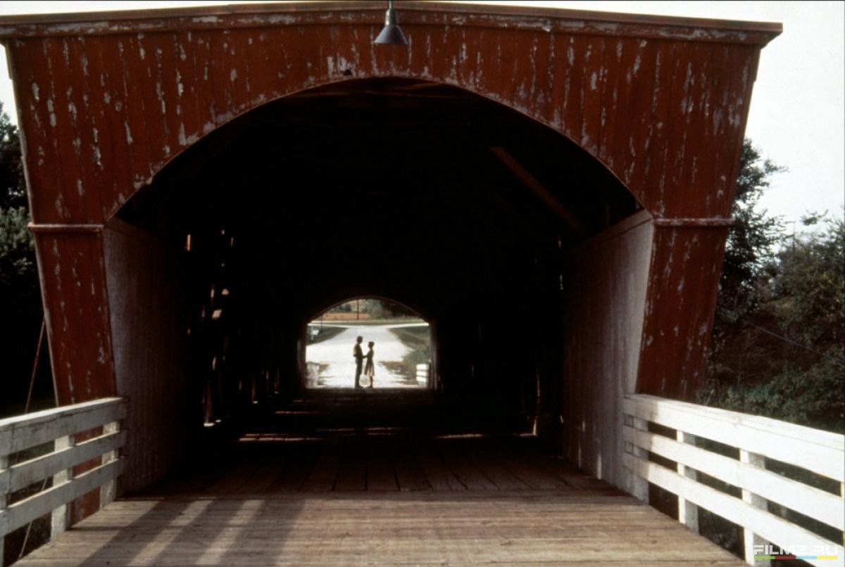 кадры из фильма Мосты округа Мэдисон Мерил Стрип, Клинт Иствуд,