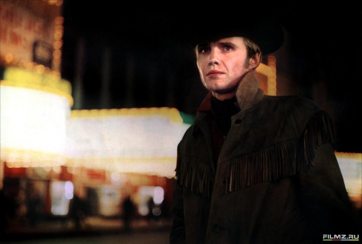 кадры из фильма Полуночный ковбой Джон Войт,