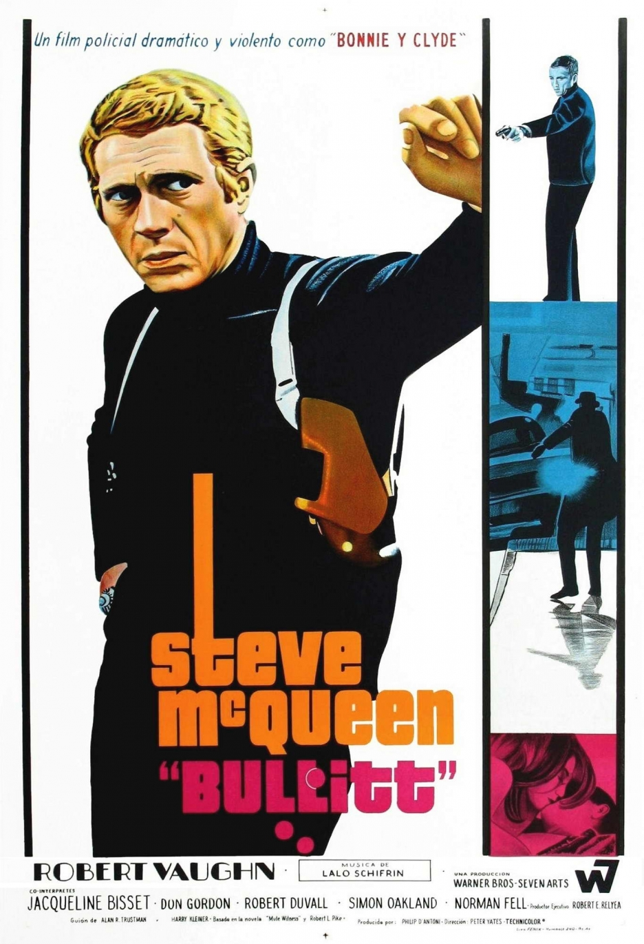 Bullitt movie pictures and posters