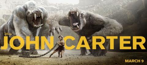 плакат фильма баннер Джон Картер