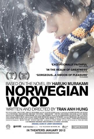 плакат фильма постер Норвежский лес