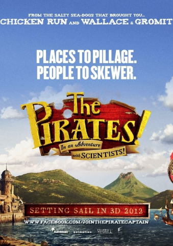 плакат фильма постер Пираты: Банда неудачников