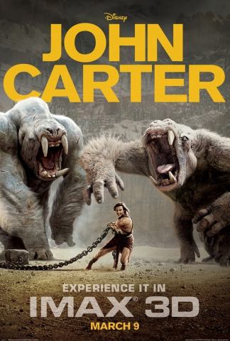 плакат фильма постер Джон Картер