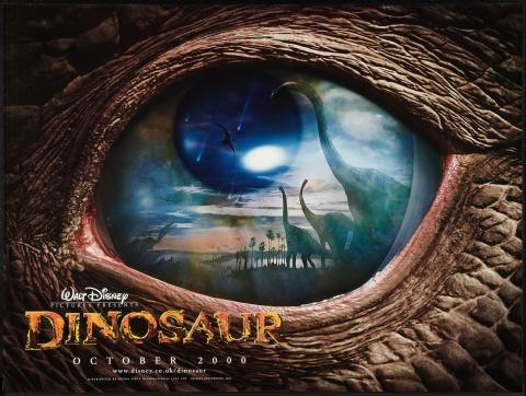 плакат фильма биллборды Динозавр