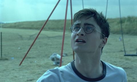 кадры из фильма Гарри Поттер и Орден Феникса Дэниэл Рэдклифф,