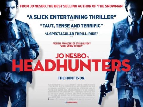 плакат фильма биллборды Охотники за головами