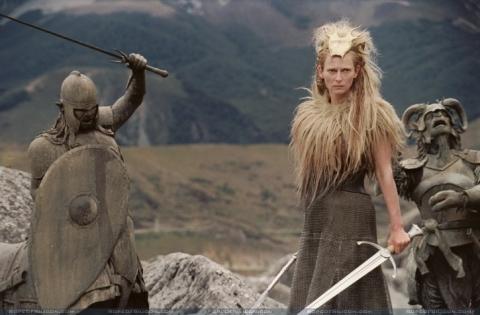 кадры из фильма Хроники Нарнии: Лев, Колдунья и Волшебный шкаф Тильда Суинтон,