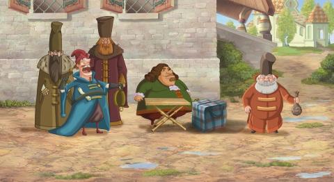 кадр №111265 из фильма Три богатыря на дальних берегах