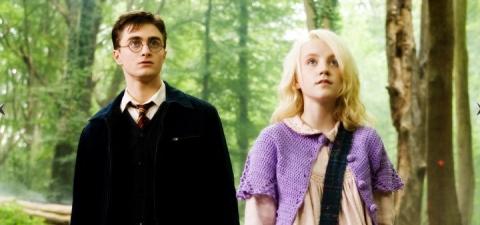 кадры из фильма Гарри Поттер и Орден Феникса Эванна Линч, Дэниэл Рэдклифф,