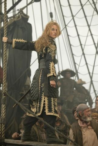 кадры из фильма Пираты Карибского моря: На краю света Кира Найтли, Дэвид Бэйли,