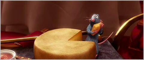 кадры из фильма Рататуй