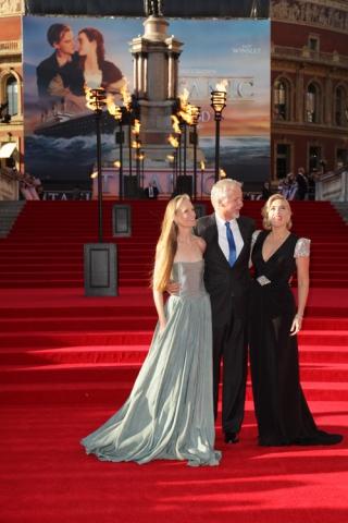 премьера Премьера фильма «Титаник 3D» в Лондоне 2012 Кейт Уинслет, Джеймс Кэмерон,