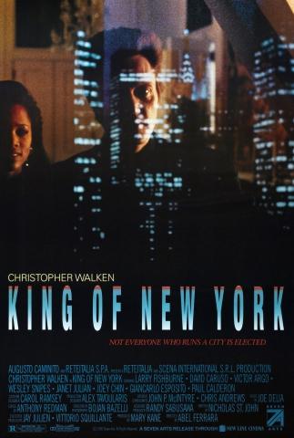 плакат фильма постер Король Нью-Йорка