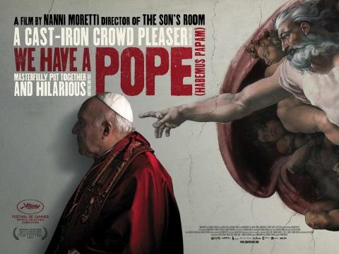 плакат фильма биллборды У нас есть Папа!