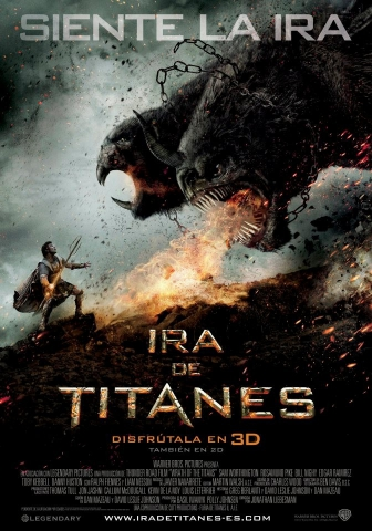 плакат фильма постер Гнев титанов