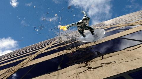 кадр №11642 из фильма Фантастическая четверка: Вторжение Серебряного Серфера