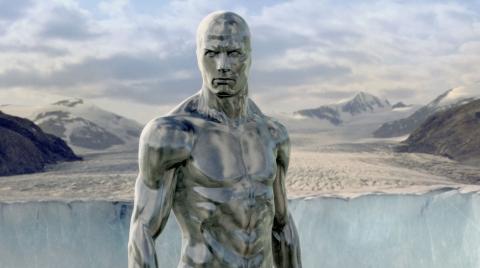 кадр №11643 из фильма Фантастическая четверка: Вторжение Серебряного Серфера