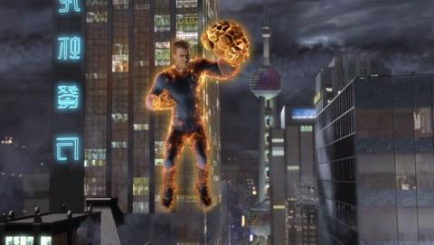 кадр №11646 из фильма Фантастическая четверка: Вторжение Серебряного Серфера