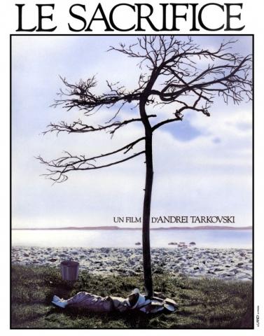 плакат фильма Жертвоприношение