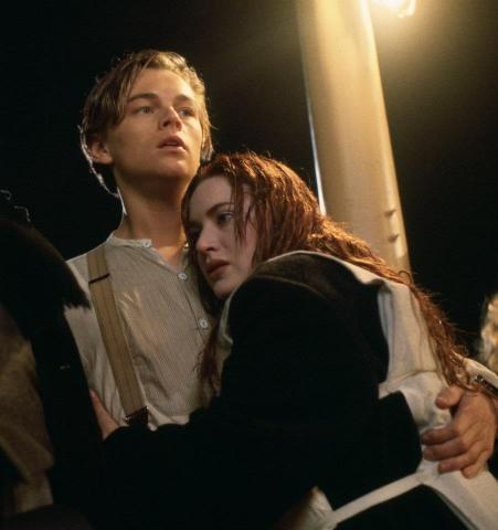 кадры из фильма Титаник Кейт Уинслет, Леонардо ДиКаприо,