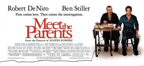 плакат фильма биллборды Знакомство с родителями