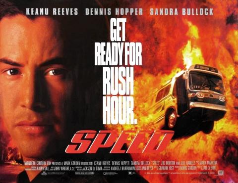 плакат фильма биллборды Скорость