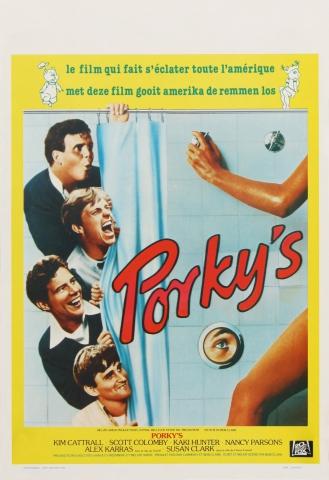 плакат фильма Порки
