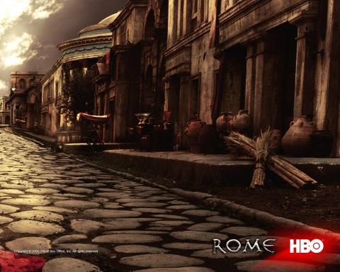 плакат фильма баннер Рим