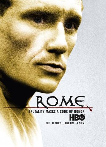плакат фильма характер-постер Рим