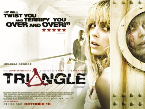 плакат фильма биллборды Треугольник