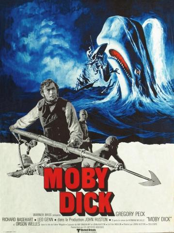 плакат фильма Моби Дик