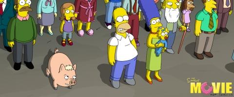 кадр №11793 из фильма Симпсоны в кино