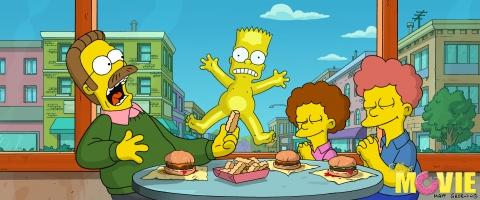 кадр №11794 из фильма Симпсоны в кино