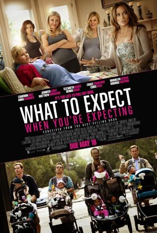 плакат фильма постер Чего ждать, когда ждешь ребенка