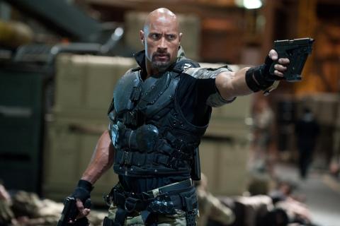 кадры из фильма G.I. Joe: Бросок кобры 2 Дуэйн Джонсон,