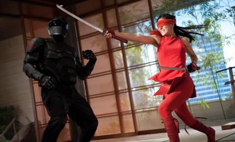 кадры из фильма G.I. Joe: Бросок кобры 2 Рэй Парк, Элоди Юнг,