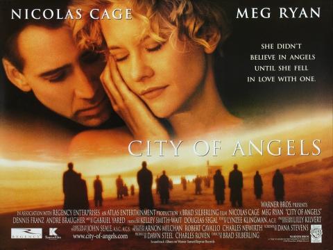 плакат фильма биллборды Город ангелов