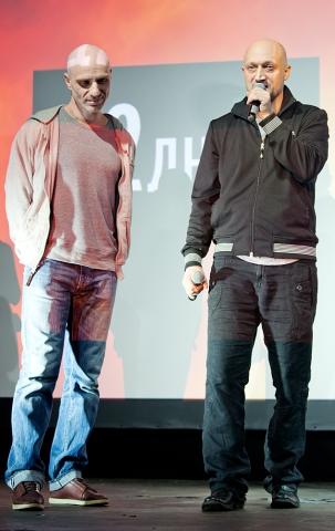 Церемония награждения Российской народной кинопремии «Жорж 2012» Виктор Шамиров, Гоша Куценко,
