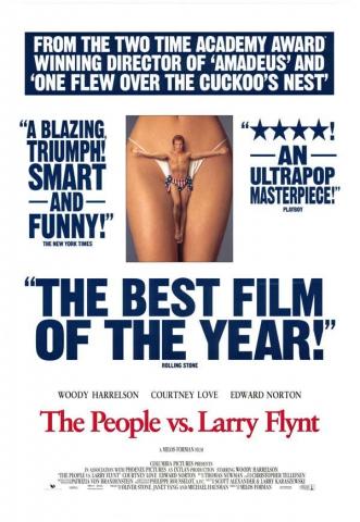 плакат фильма Народ против Ларри Флинта