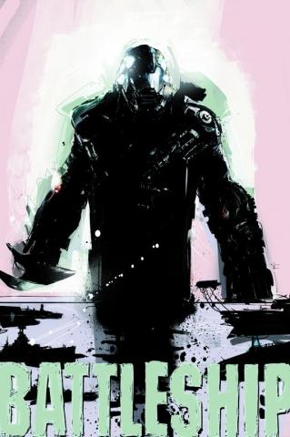 плакат фильма арт-постеры Морской бой