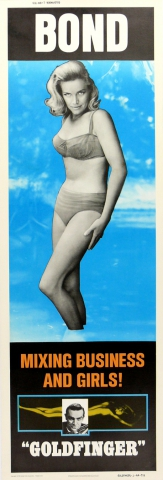 плакат фильма характер-постер постер Голдфингер