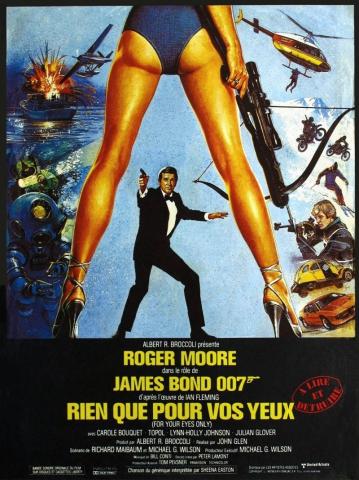 плакат фильма постер Только для твоих глаз