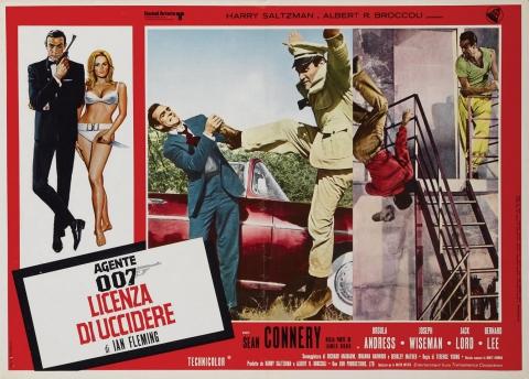 плакат фильма постер биллборды Доктор Ноу